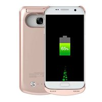 accumulator battery charger - 4200 mAh Power Case Li ion External Backup Battery Accumulator Charger Case Cover Pack Power Bank Cases Coque For Samsung Galaxy s7 Fundas