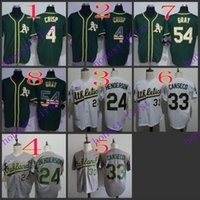 athletics oakland - oakland athletics coco crisp rickey henderson jose canseco Jerseys Authentic Stitched