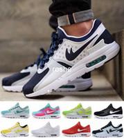 achat en gros de air max femmes-Nouvelle mode Max Zero 87 2 Chaussures de course pour femme Hommes, Sport sportif respirant de haute qualité Sneakers en plein air Eur Taille 36-45