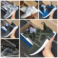 Wholesale 2016 New NMD Runner Primeknit XR1 Fall Olive Green All Black Fashion Sneakers Men Women Youth Sports Running Shoes Size
