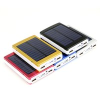 apple solar power - Hot Solar Charger Power Bank mAh Dual USB Portable Solar Battery Panel External Charger for Laptop and all smart phones