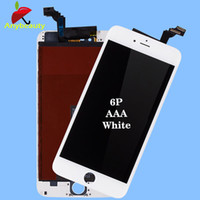 Wholesale 100 Guarantee No Dead Pixel inches For iPhone p LCD Screen Black and White by Free Shpping