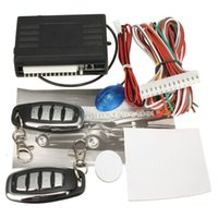Wholesale Universal Car Remote Central Lock Locking Control Door Keyless Entry System Kit