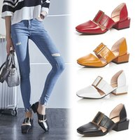 b young dresses - 2016 HOT A variety of colors Summer dress shoes Woman Genuine leather Casual shoe Size Fashion young girls BOBO b1849