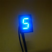 Wholesale Hot Sale Blue Light LED Universal Digital Gear Indicator Motorcycle Display N gear sensor