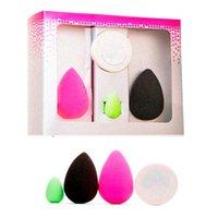 Wholesale 4 in professional Micro Mini Eggs blender Makeup sponges Non latex cosmetics beauty make blending sponge