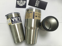 Wholesale 2016 Hot Sale cheap Rambler Tumbler oz oz oz YETI Cups Cars Beer Mug Large Capacity Mug Tumblerful