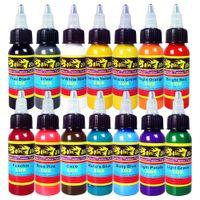 Wholesale Professional Solong Tattoo Ink Colors Set oz ml Bottle Tattoo Pigment Kit