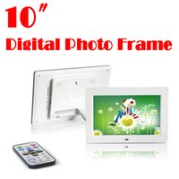 Wholesale by dhl or ems pieces inch digital photo frame pixels the MP3 video output remote control digital photo frame