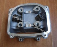 Wholesale Chinese Scooter Moped Go kart ATV QMJ GY6 NON EGR Cylinder Head Assembly with quality valves mm brand new