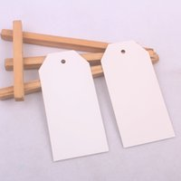 apparel labels - White DIY Greeting Cardboard Hang Tags With Paper Ropes Blank Apparel Tags cm Colors can be mixed