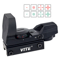 Wholesale VITE Full Metal Construction Telescope Green And Red Dot Sight With Reticles And Levels Of Brightness F9119A