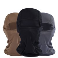 Wholesale Outdoor Motorcycle Riding Cheek CS Tiger Tactics Headgear Black Mask Military Fans Equipped With Quick Drying Breathable