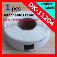 Wholesale x Rolls Brother Compatible Labels DK labels per roll mmx17mm BROTHER LABELS OF FREE detachable frame
