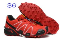 athletic shoes - Solomon Speedcross Man Running shoes Walking Outdoor Hiking Shoes Mountain Climbing Shoes Zapatos Waterproof Athletic Shoes Size