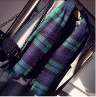 basic dyes - New Scarf Blanket Scarf New Designer Unisex Acrylic Basic Shawls Women s Scarves Big Size CM M219