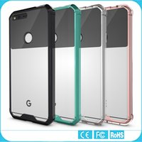 Wholesale Google Pixel Case Transparent Clear Hybrid Bumper Shockproof Back Cover Phone Accessories For Google Pixel Google Pixel XL