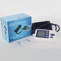 arm color lcd - White Color Automatic Heart Beat Meter Gauge LCD Digital Arm Blood Pressure Upper Monitor Good Quality