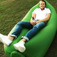Wholesale lamzac inflatable air lounge sleep lamzac hangout Laybag KAISR Beach Sofa Lounge only Seconds Quick Open Lay bag