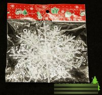Wholesale 2016 Christmas cm Snowflake String Christmas Xmas Party Wedding Decoration E1689