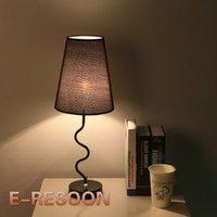 Wholesale Light art and modern minimalist design warm bedroom study dimming lamp bedside lamp