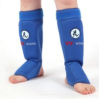 Wholesale wesing muay thai boxing shin and instep guard approved by IFMA