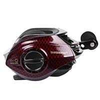 Wholesale Shishamo BC150 Left Right Hand Fishing Bait Casting Reel BB Double Control Brake System with One Way Clutch