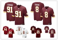 authentic redskins jerseys - 2016 hot sale Youth football Jerseys Washington cheap Redskins authentic Kirk Cousins football shirt Taylor Youth size S XL