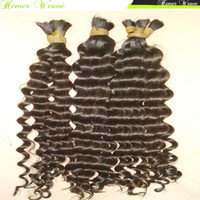 arrival hair braids - New Arrival Unprocessed Virgin Bulk Hair Braiding Unwefted Brazilian Human Hair Loose Curly