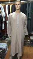 muslim clothing for men - Clothing For Men Muslim Long Sleeves Robe Arabic Abaya Men Islamic Clothing
