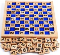 Wholesale Baby Toys Montessori Wooden Teaching Toys Digit Cognitive Math Toy Teaching Logarithm Version Kid Early Learning Toy Gift