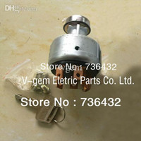 Wholesale Digging machine parts Ignition Switch Lock for Kato HD700 HD800 HD820 Excavator disconnect switch Kaoto switch