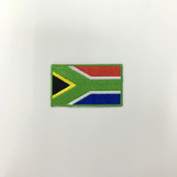 africa national flag - 2 quot National Flag Patch Spain Singapore Scotland South Africa Senegal Saudi Arabia Embroider Clothing T Shirt Customize Badges