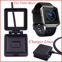 Wholesale Newest For Fitbit Blaze Smart Watch Accessory Of USB Cable Charger Lines Charging Base Lines Also Sale Fitbit Alta Charg Force Surge HR
