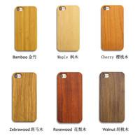 apple sculptures - Iphone PLUS Case Unique Sculpture Wood Engraved Real Wood PC Cellphone Celular Shell Back Case Cover