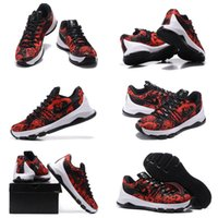 Wholesale With SHOES Box Kevin Durant KD VIII Low Mother s Day Red Black FLORAL Finish Men hoes
