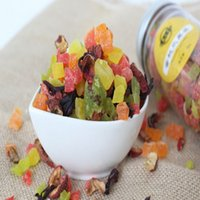 berry diets - 100 Organic Dried Fruit Tea Colorful Mixed Granules Berry Kiwi Sweet Fruit Aroma Full Vitamin C Health Diet