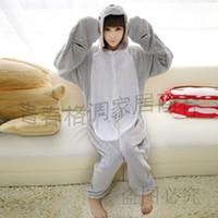 Cheap Wholesale-Anime Pijama Cartoon Unisex Adult Pajamas Cosplay Costume Animal Onesie Sleepwear Sea Lions Animal pajamas