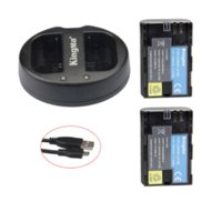 Wholesale KingMa LP E6 Li ion batteries LP E6 LPE6 Camera Rechargeable Battery pack For Canon EOS D2 D3 D D D D LC E6E