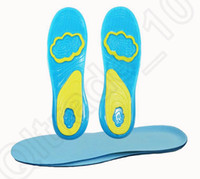 ankle orthotic - Womens Mens Gel Active Orthotic Support Cushion For Shoes Heel Knees Ankles Insoles Shoe Pads Pain Relief OOA704