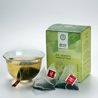 Wholesale Organic chinese jasmine scented raw pu erh tea private label detoxtea bags