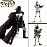 Wholesale H15cm Kaiyodo Revoltech Storm Star Wars Darth Vader White Knight Stormtrooper Bai Bingbo Bafei Te movable model