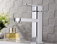 Wholesale Bathroom Sink Faucets Zinc Alloy Faucets Deck Mounted Faucets Single Holder Single Hole