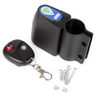 Wholesale Lock Bike Bicycle Security Wireless Remote Control Vibration Alarm Anti theft F00087 FADH