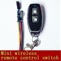 Wholesale The wireless remote control switch M A DC3 V V V V V V VWide voltage Mos No Sound Mini The ultra small receiver Single way