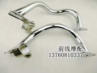 Wholesale motorcycle engine protection bumper frame fits honda cb400 Stainless steel