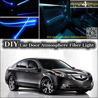 acura tl door - Tuning Atmosphere Fiber Optic Band Lights For Acura TL Door Panel illumination Refit interior Ambient Light