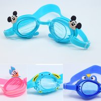 Wholesale Boys Girls Goggles new style cartoon kids lovely fashional beach outdoors glass