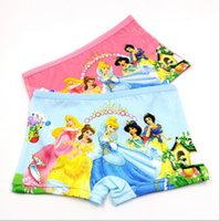 Wholesale new snow White princess baby Panties Underpants Boxers princessUnderwear grils cartoon D Panties