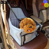 Wholesale Portable Safety Pet Car Seat Covers Waterproof Back Seat pet mat D oxford fabric PVC Booster Mat for Bag Dog Cat Puppy Travel